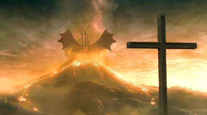 "Umarł król. [""Godzilla II: Król potworów"", 2019]"